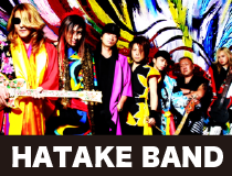 HATAKE BAND form JAPAN Official Web Site